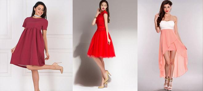 rochie de bal roșie