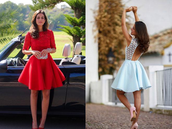 rochie scurtă cu bile