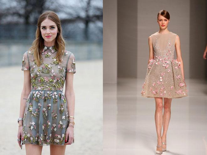 rochii cu motive florale