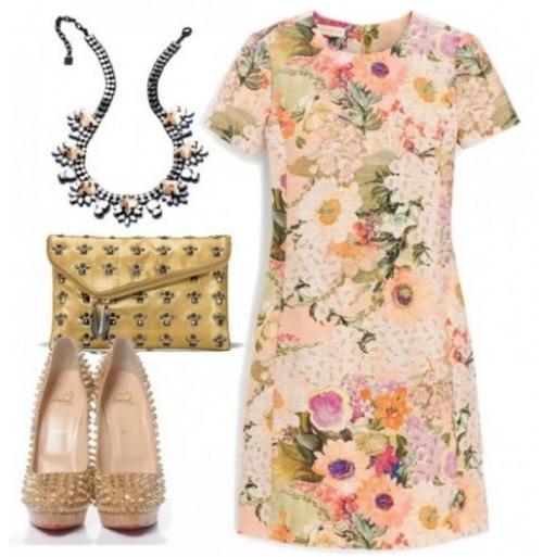 bijuterii cu motiv floral