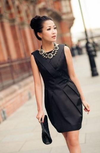 accesorii pentru rochie neagra