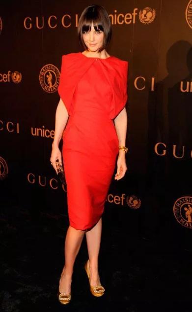 rochie roșie pentru femeile grase
