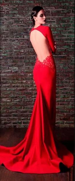 rochie roșie lungime podea