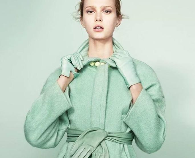 rochie de mentă