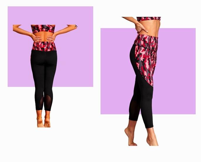 Фитнес еластични дрехи