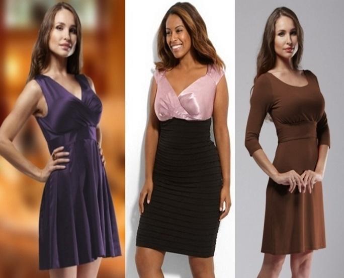 φόρεμα για τεράστια στήθη