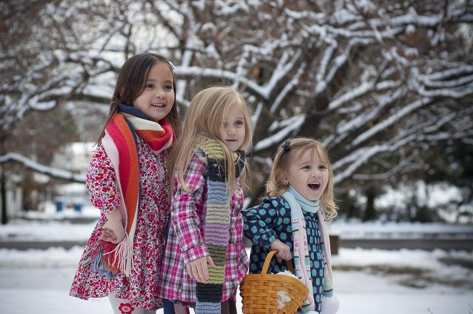 eșarfă pentru copii pentru iarnă