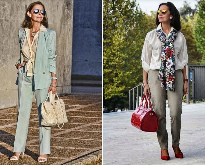 îmbrăcăminte pentru femei peste 50 de ani