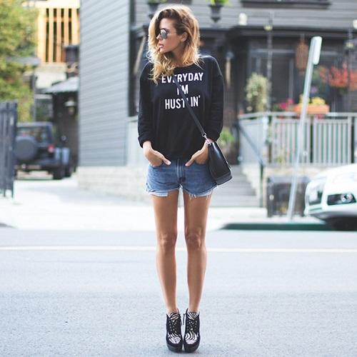 pantaloni scurți eleganti