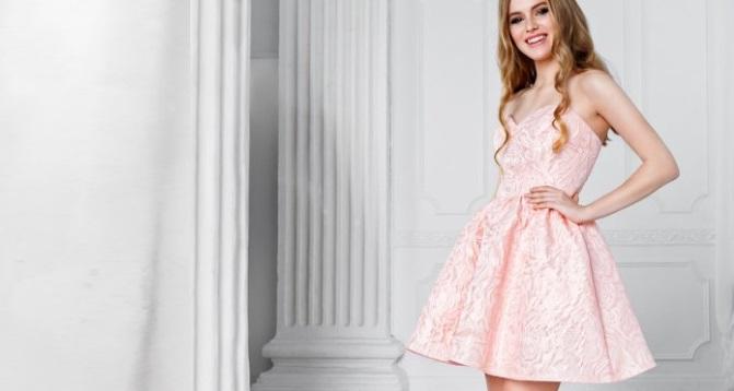 rochie de domnisoare de onoare roz