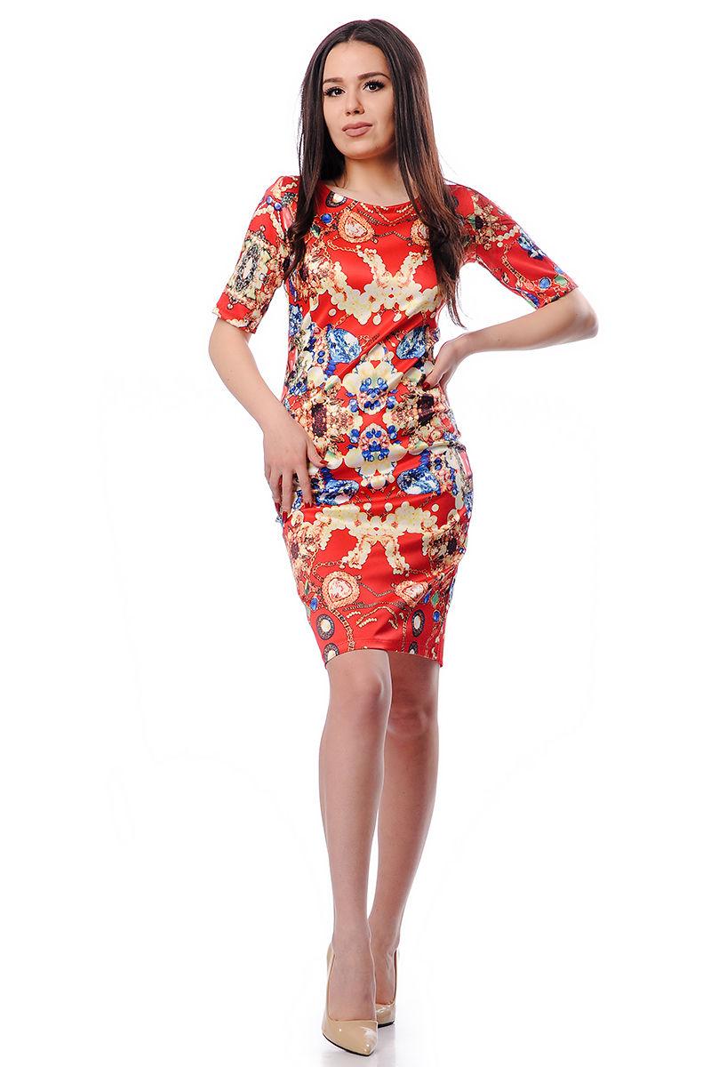 rochie cu motiv floral
